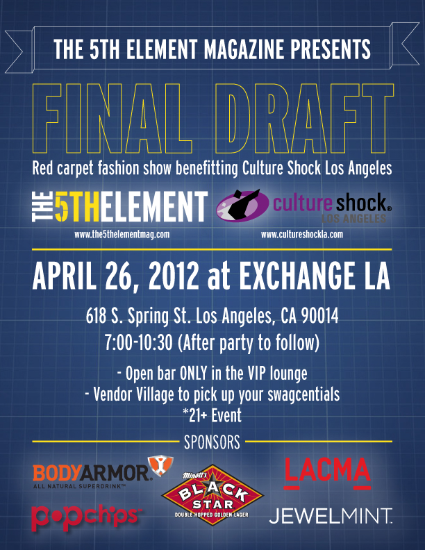 5th Element Magazine Final Draft Fashion Show