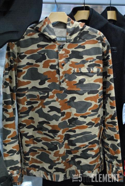Wolfman orange camo jacket