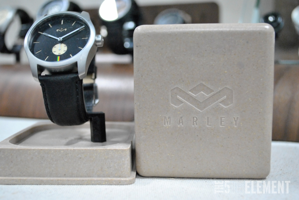 House of Marley watch and packaging