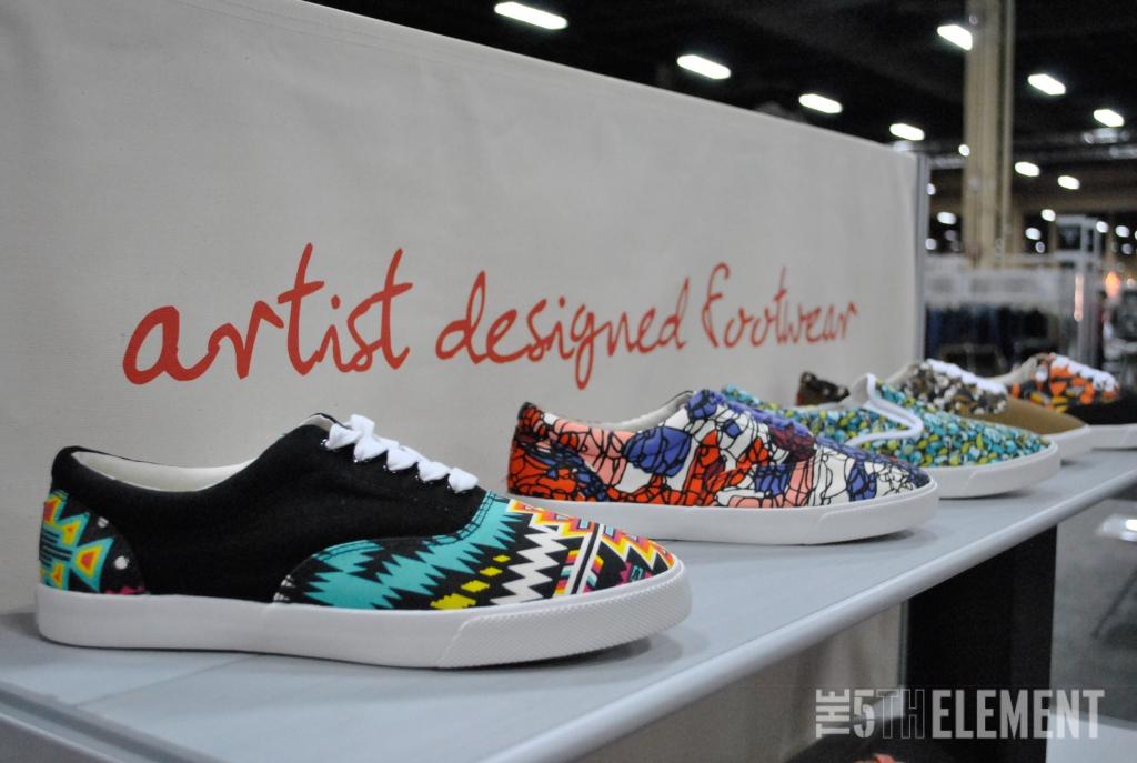 Bucketfeet: artist designed footwear