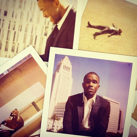 Band Of Outsiders Spring 2013 Polaroid Campaign featuring Frank Ocean