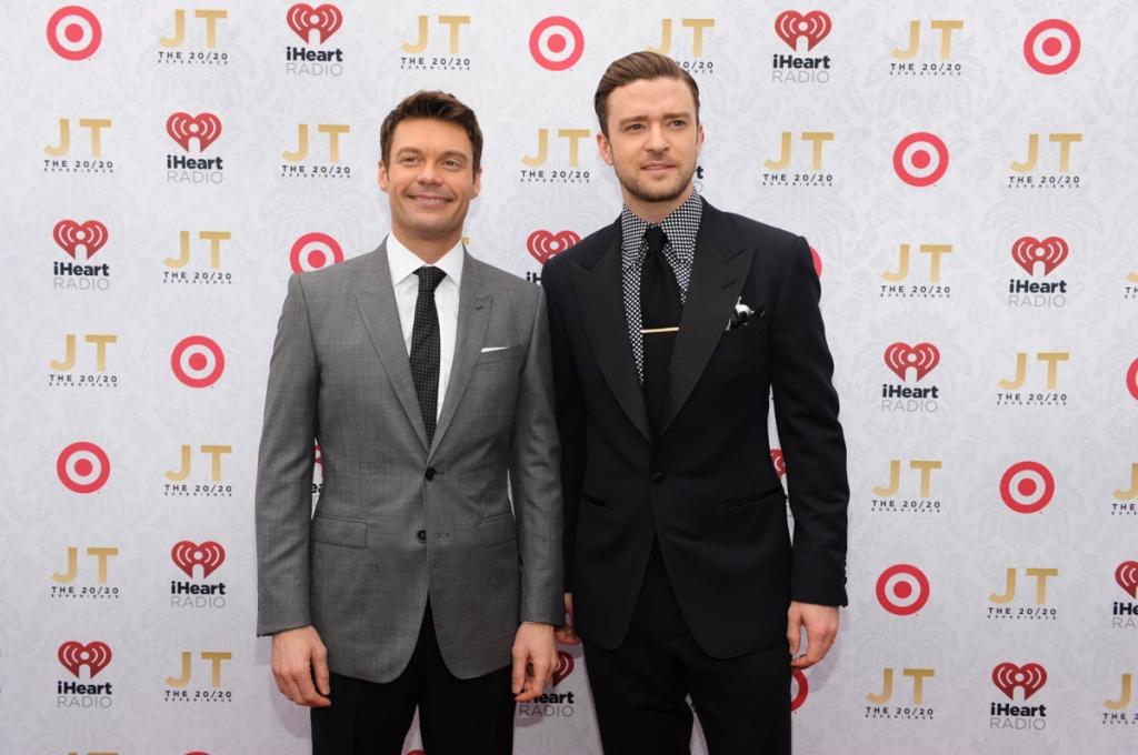 Ryan Seacrest & Justin Timberlake