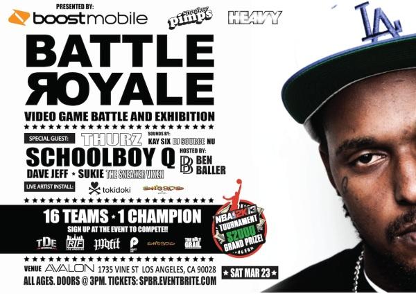 Boost Mobile & Sneaker Pimps Present: Battle Royale