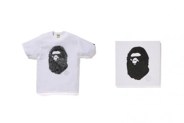 NOWHERE/ A Bathing Ape 20th Anniversary Collab Tees