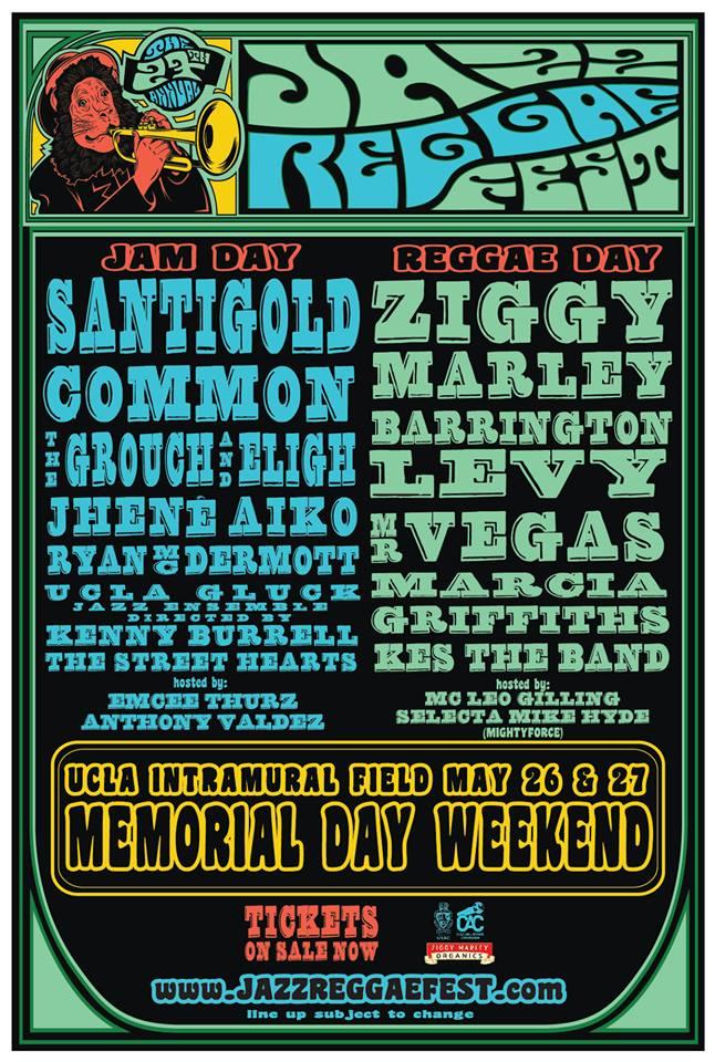 2013 UCLA JazzReggae Festival