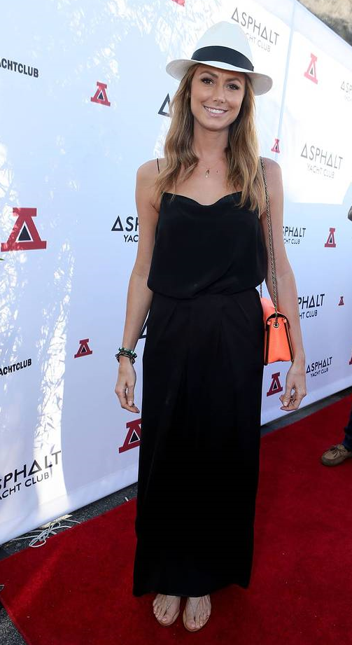 Stacy Keibler at the Asphalt Yacht Club release party in Malibu