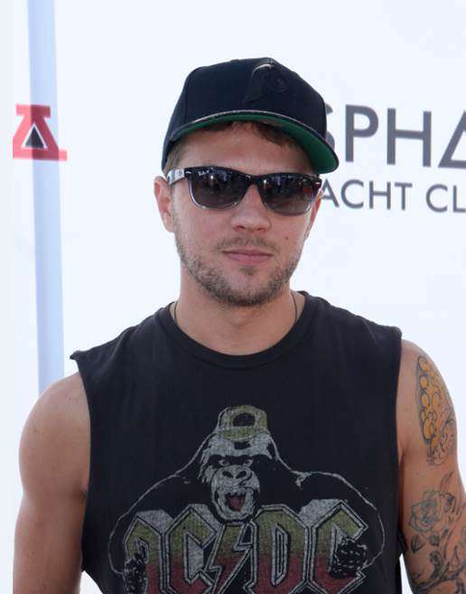 Ryan Phillippe at the Asphalt Yacht Club launch party in Malibu