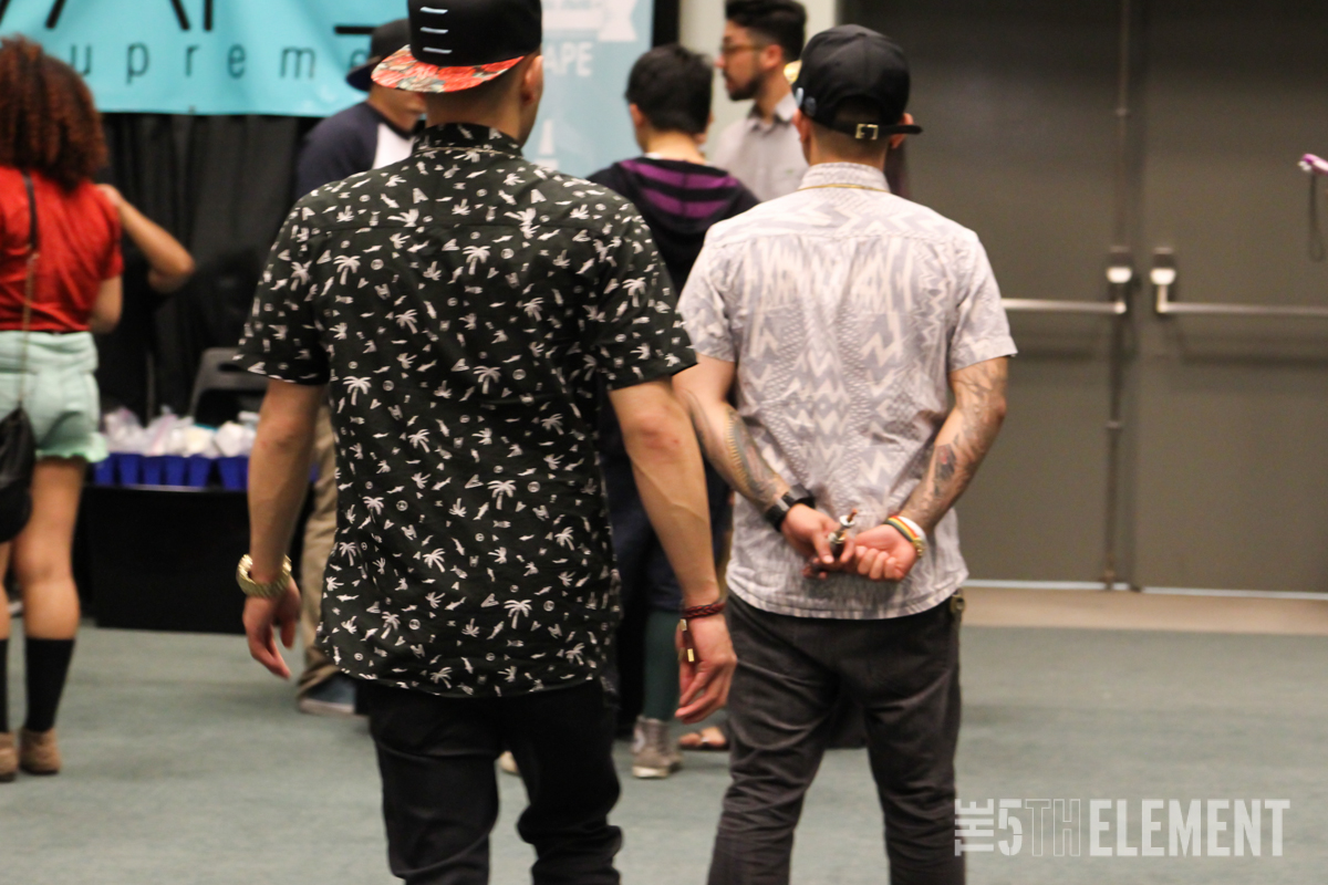 Street Style Shots: Venue Trade Show