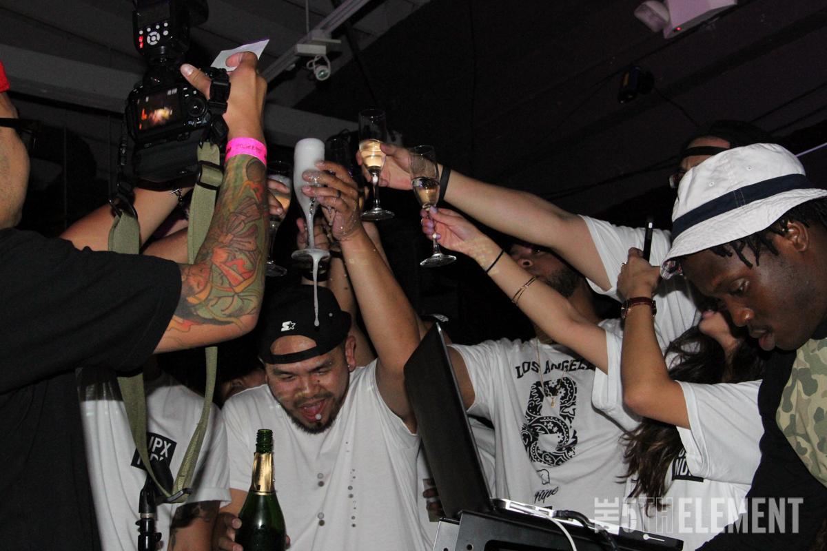 Ripe x UPXUNDR Release Party
