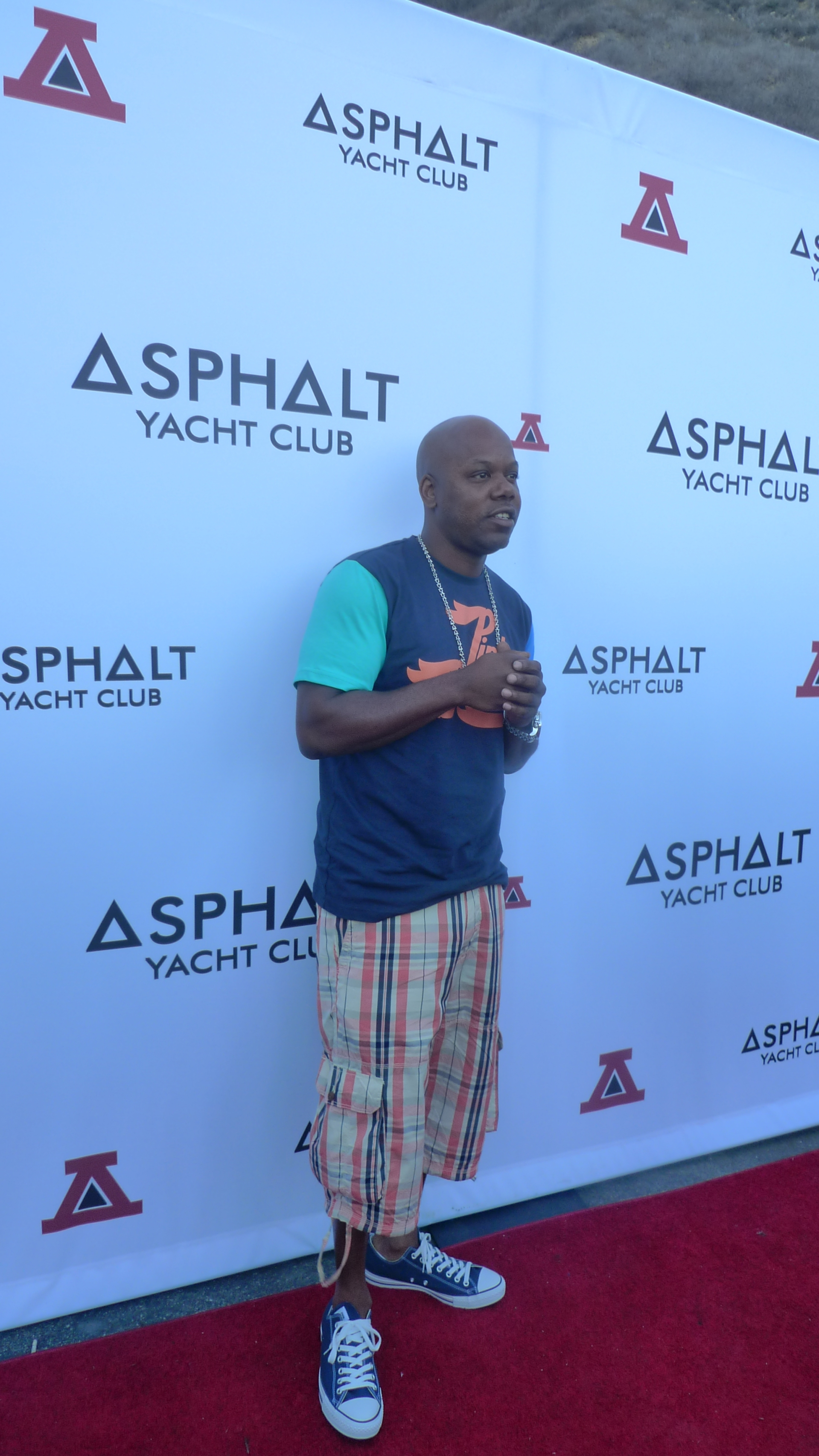 Too Short at the Asphalt Yacht Club launch party in Malibu