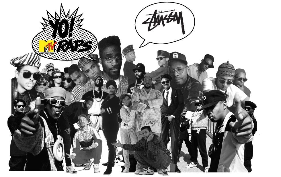 Stussy x Yo! MTV Raps - We Were All Watching