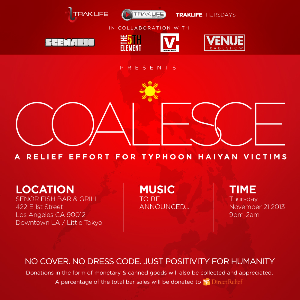 COALESCE: A Relief Effort For Typhoon Haiyan Victims