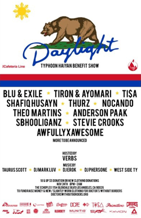 Daylight Benefity Show For Typhoon Haiyan Victims