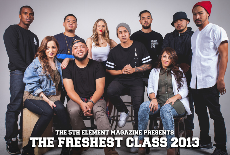 The 5th Element Magazine Presents: The Freshest Class 2013