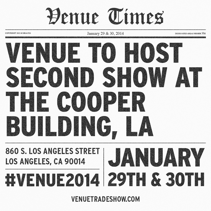 VENUE Tradeshow 2014