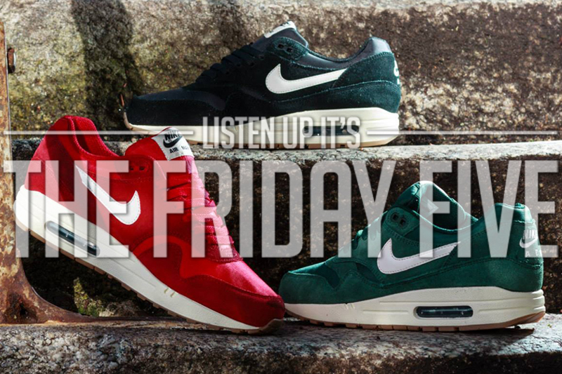 Friday Five Air Max One