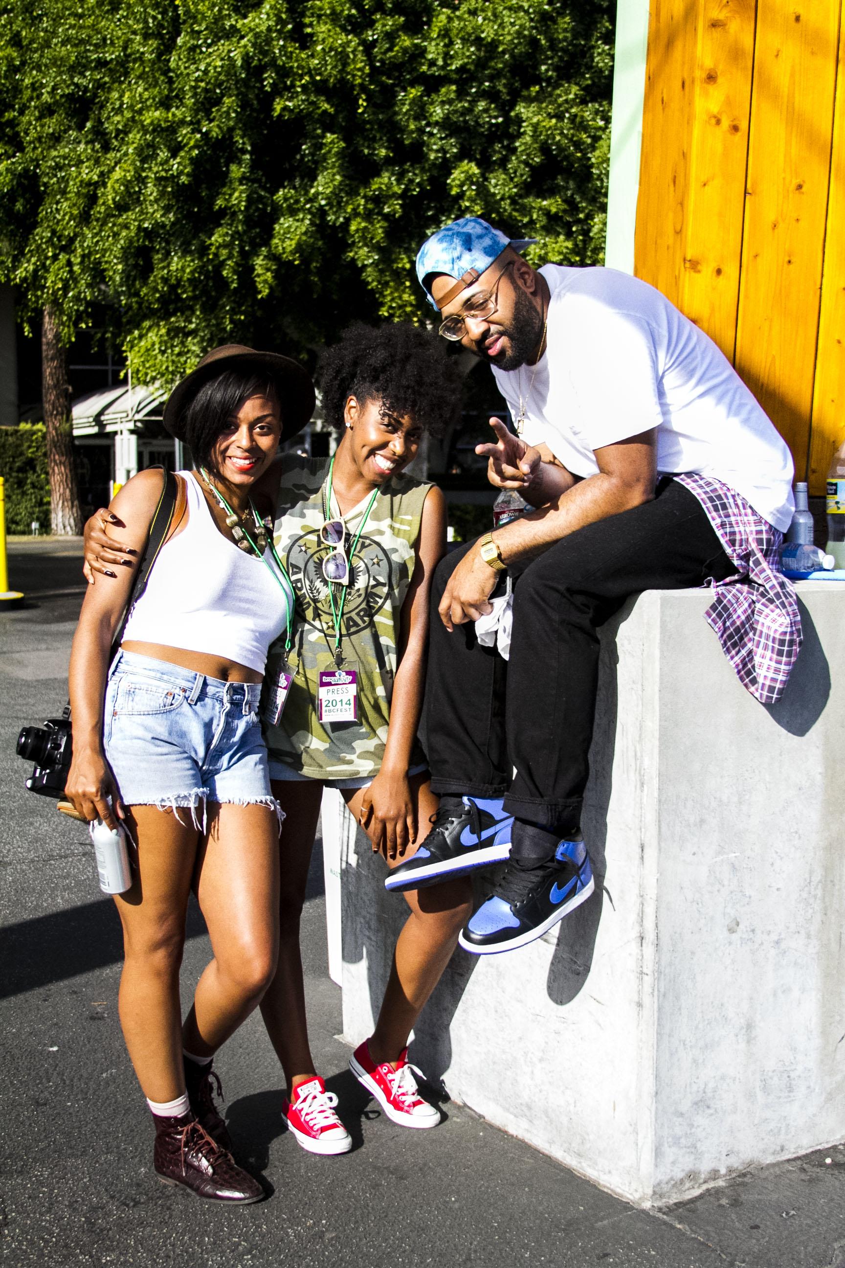 Street Style Shots: Broccoli City Festival LA 2014