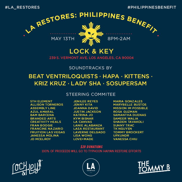 LA Restores: Philippines Benefit