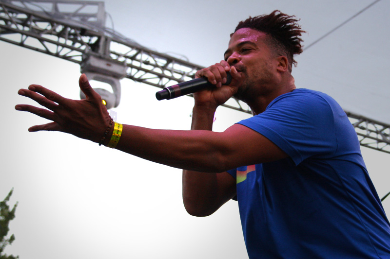 RECAP: Sunset Strip Music Festival 2014, MURS316 Stage