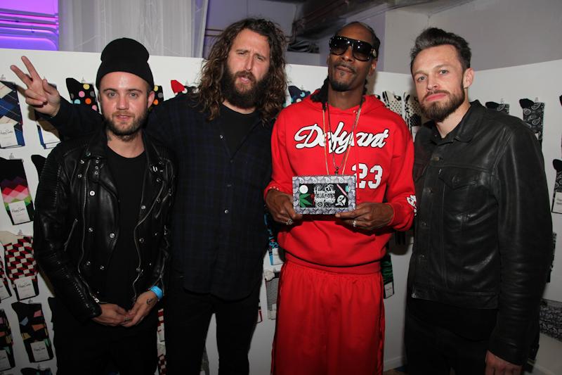 Snoop Dogg and the Happy Socks Team-1