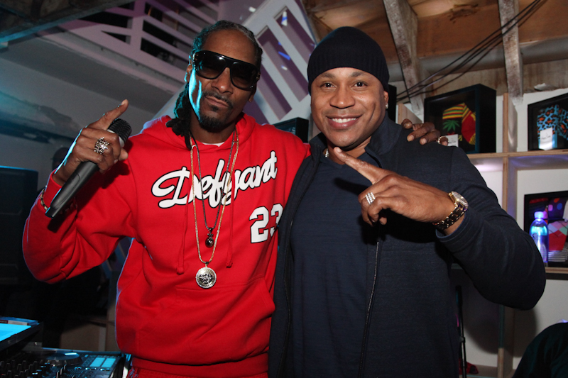 Snoop Dogg with LL Cool J-1
