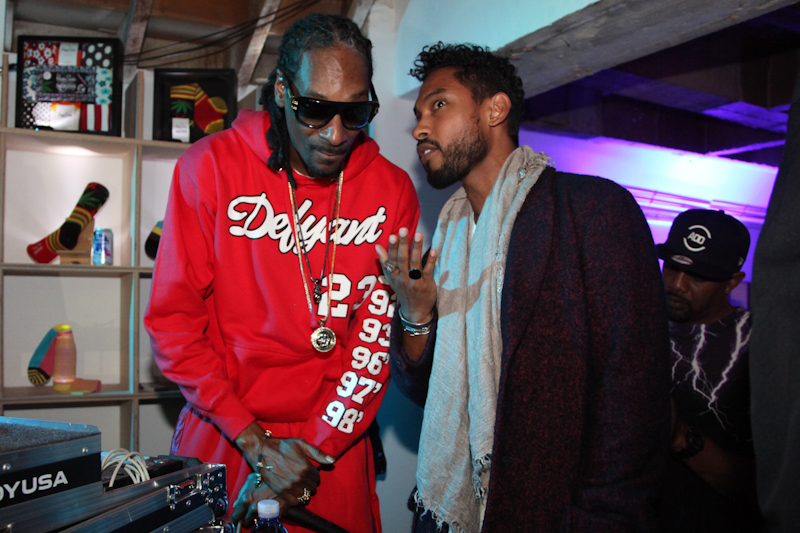Snoop Dogg with Miguel-1