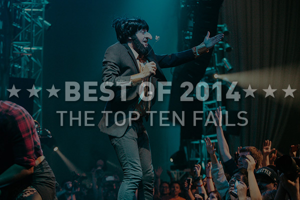 2014's Best: The Top Hip-Hop Fails of The Year