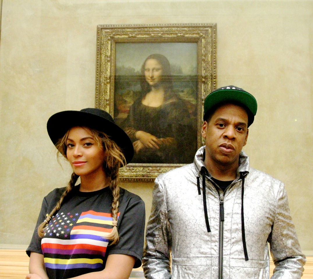 Jay and B and Mona Lisa