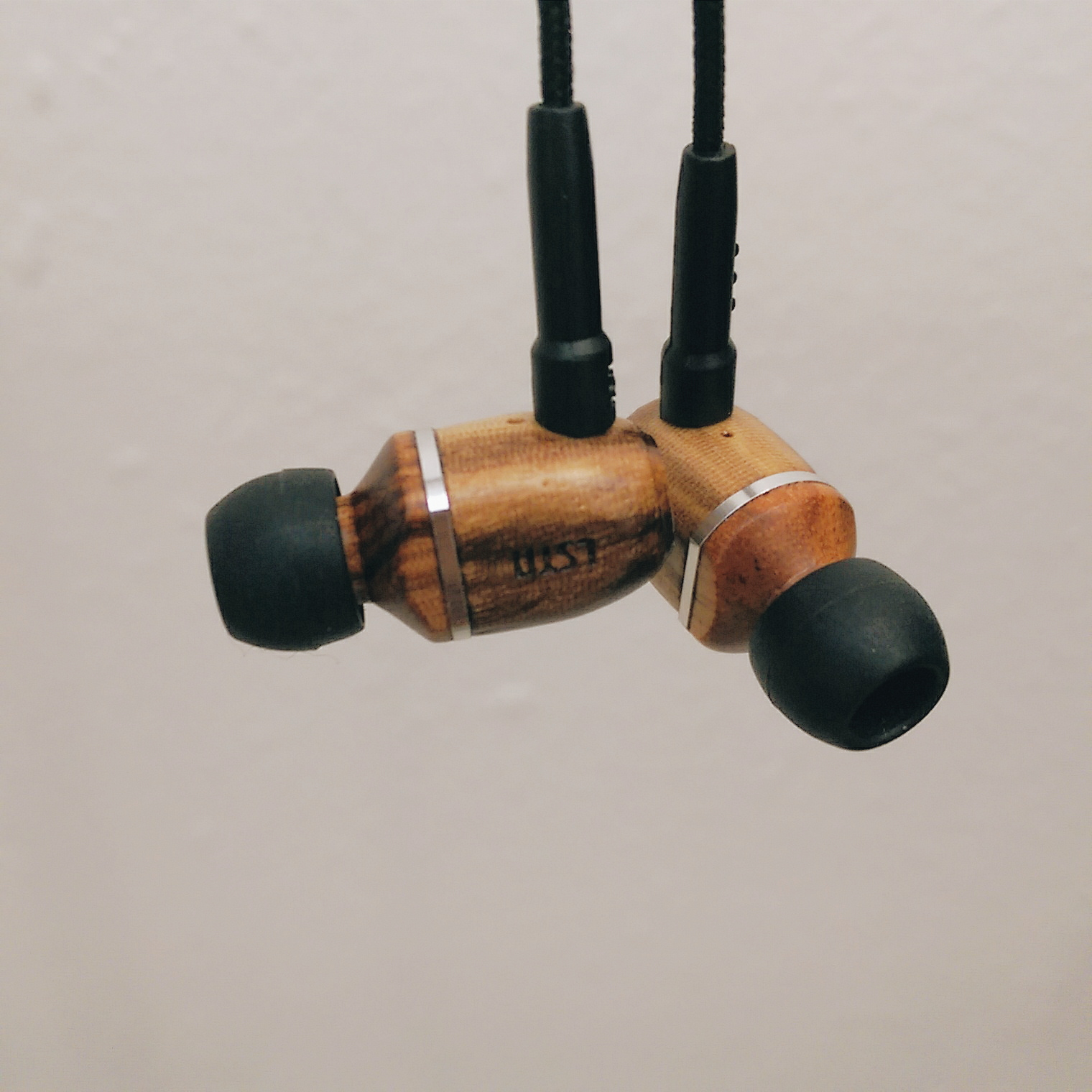 Gear Up: LSTN Headphones Zebrawood 'Bowery' Earbuds