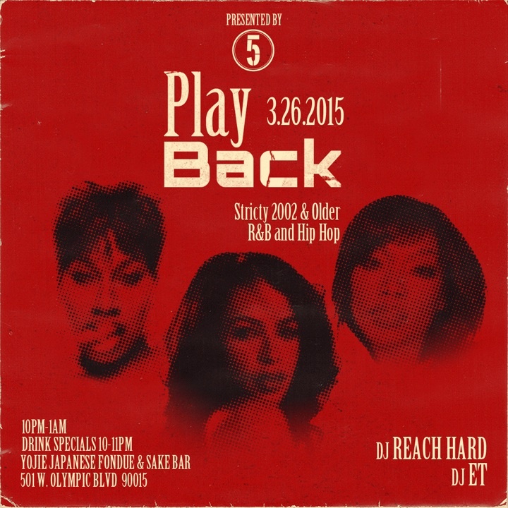 The 5th Element Magazine Presents: PlayBack
