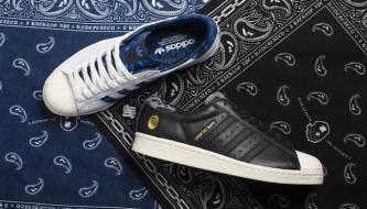 buy online 82068 ffeee BAPE x UNDEFEATED x adidas Originals Superstar 80s Pack