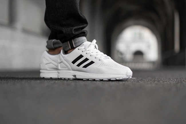 "c788e801a Adidas ZX Flux Introduces Classic ""White Core Black"" Colorway – THE ..."
