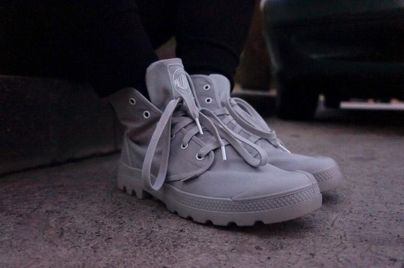 Spring Boots with Palladium