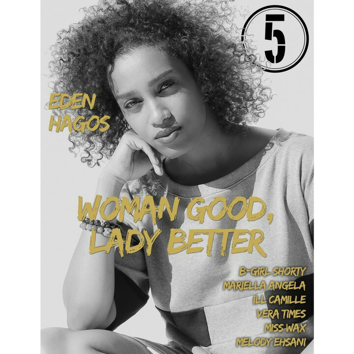 "The 5th Element Magazine Presents: ""Woman Good, Lady Better"" (Spring/Summer 2015 Issue)"
