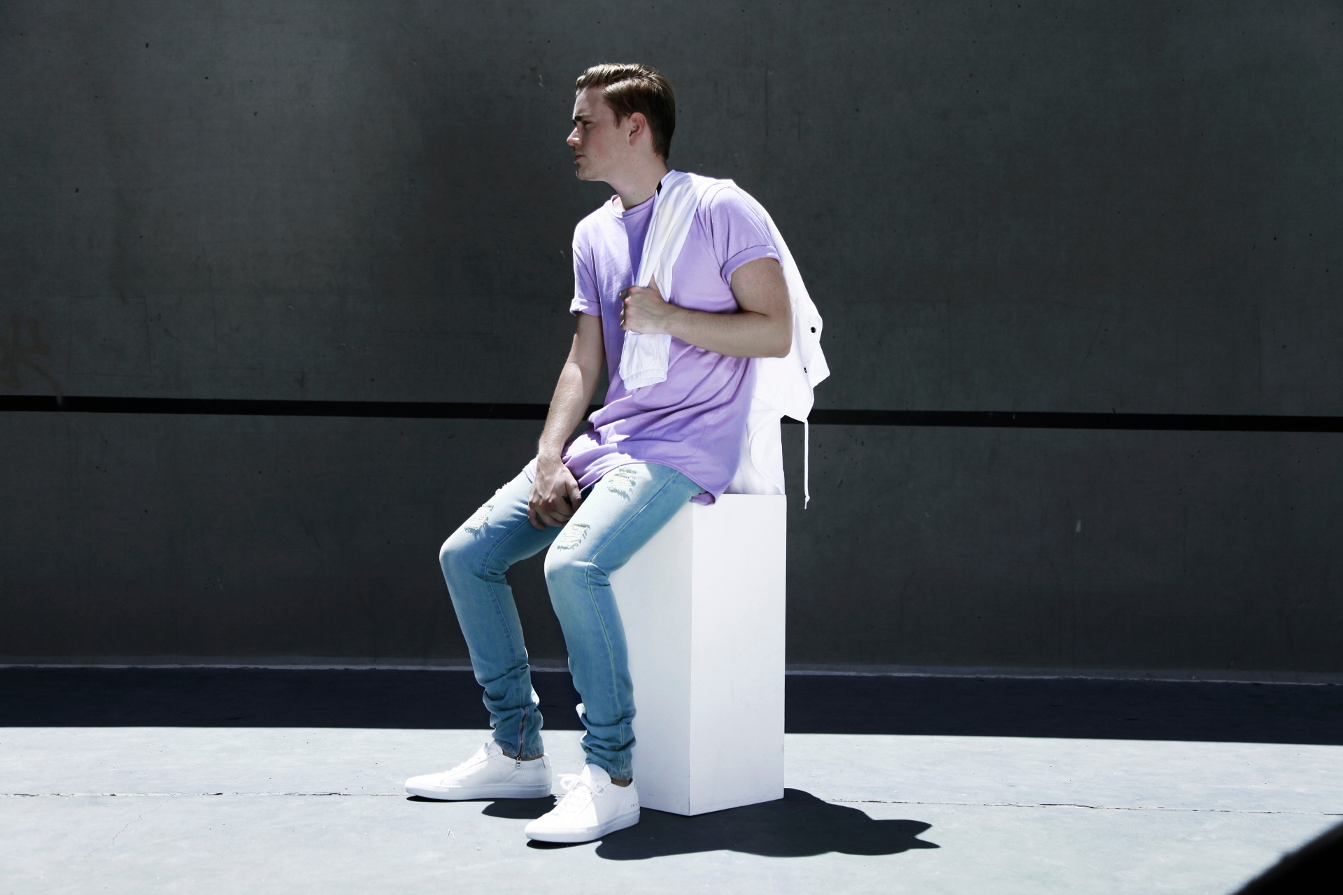 KNYEW Sets the Season Proper with Their Pastel E-Long Tees