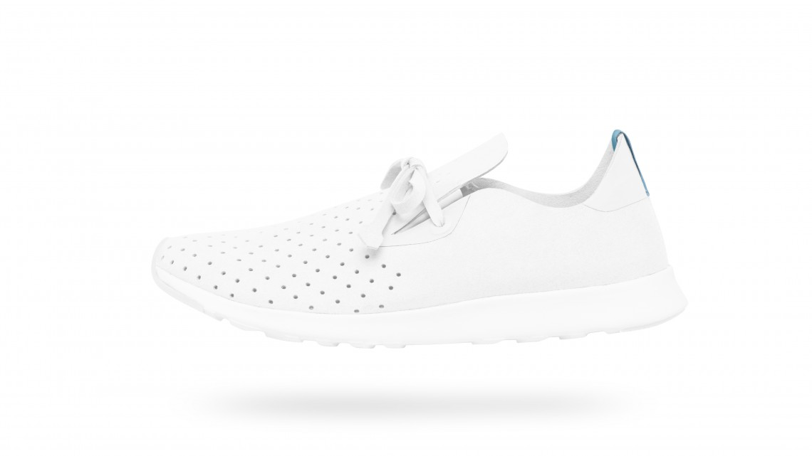 Keep It Clean In Native Shoes' All White Apollo Moc