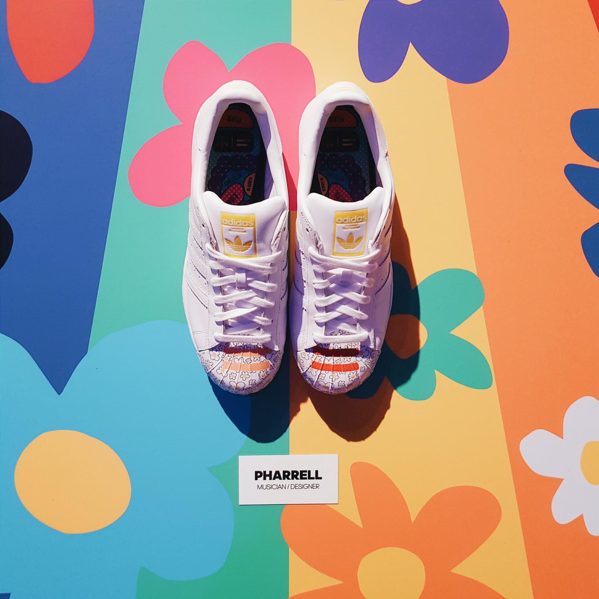RECAP: adidas Originals X Pharrell Present #OriginalSuperstar at Milk Studios