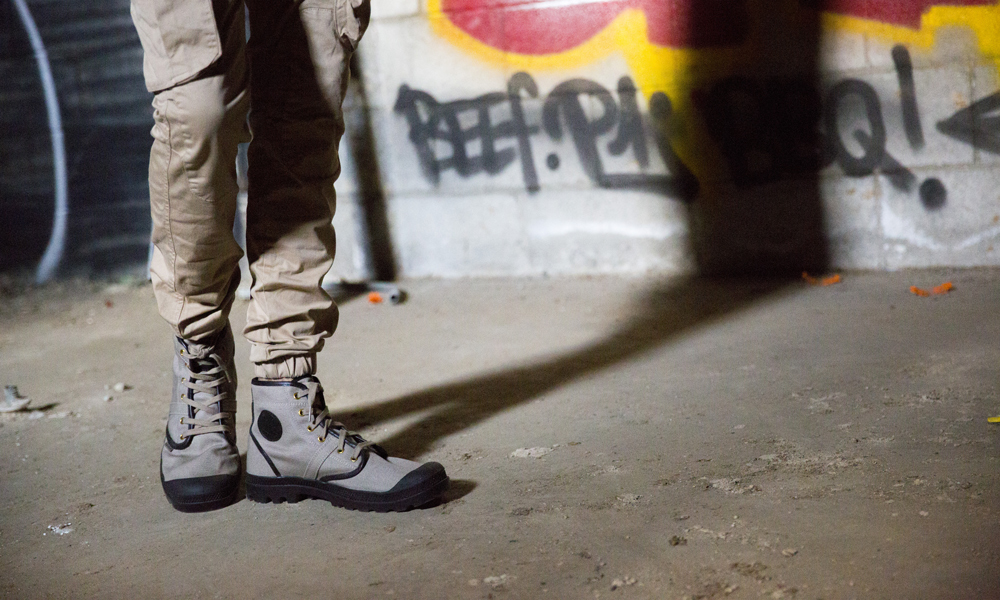 Palladium Boots Presents The Twill Collection