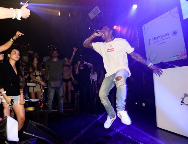 Travi$ Scott Performing