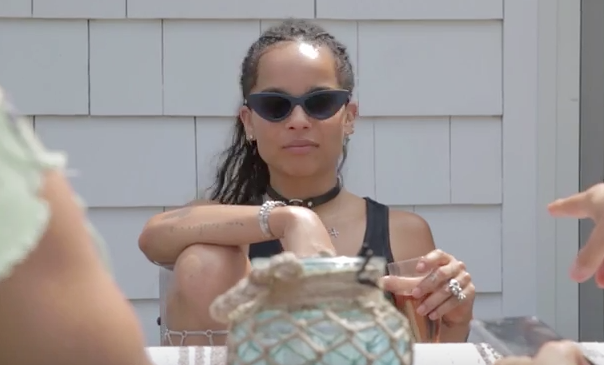 Zoë Kravitz Pays Tribute to E-40 in Latest NYLON TV Video