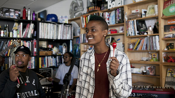 Tiny Desk Concert with The Internet.