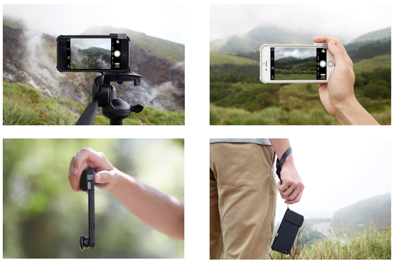 The SNAP! PRO iPhone 6/6S Case Is A Mobile Shutterbug's Dream
