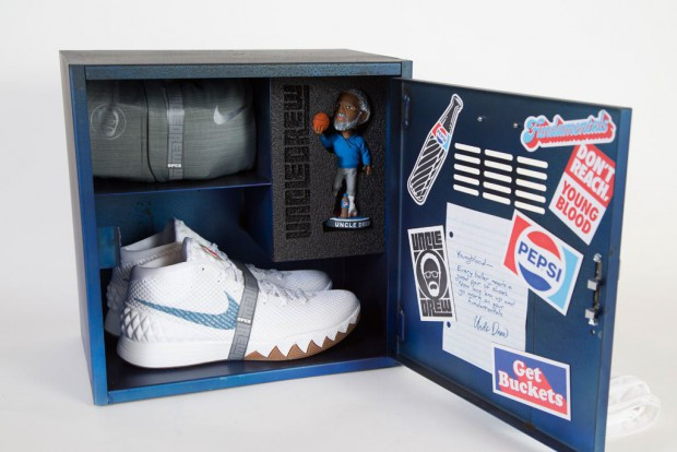"""Pepsi Swags Out Uncle Drew With His Own Kyrie 1 """"PEs"""""""