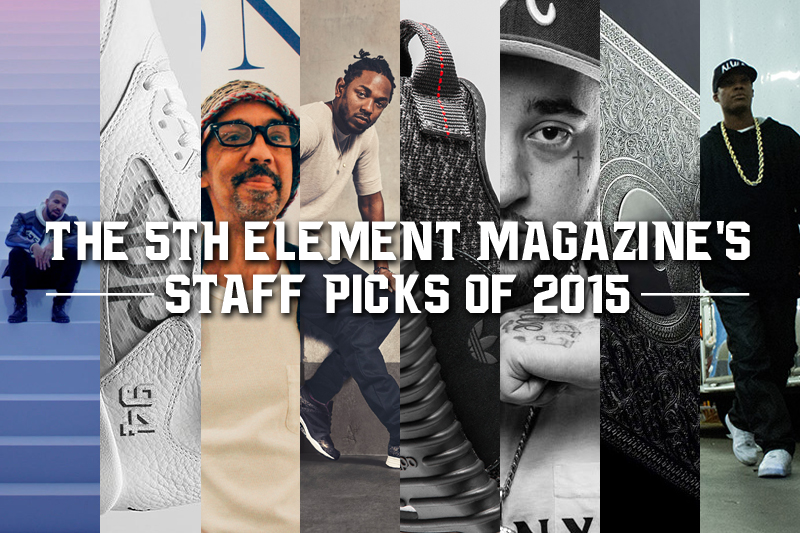 The 5th Element Magazine's Staff Picks of 2015