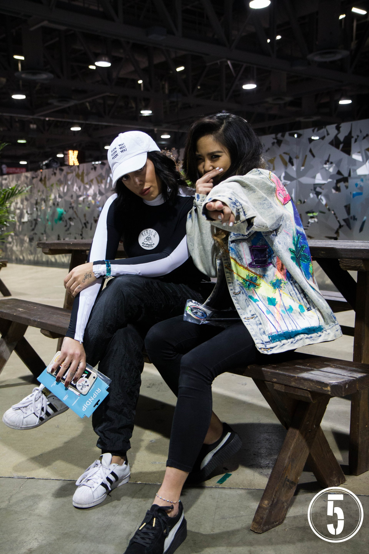 Street Style Shots: Agenda Long Beach, January 2016