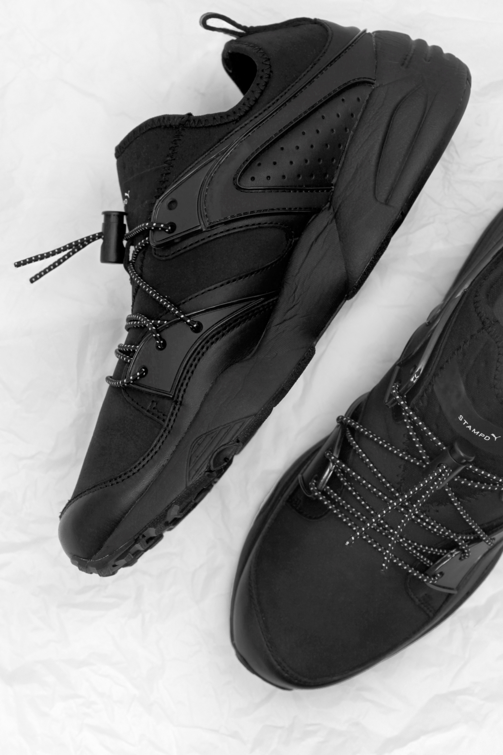 Black Out with the Upcoming Stampd x PUMA Blaze of Glory