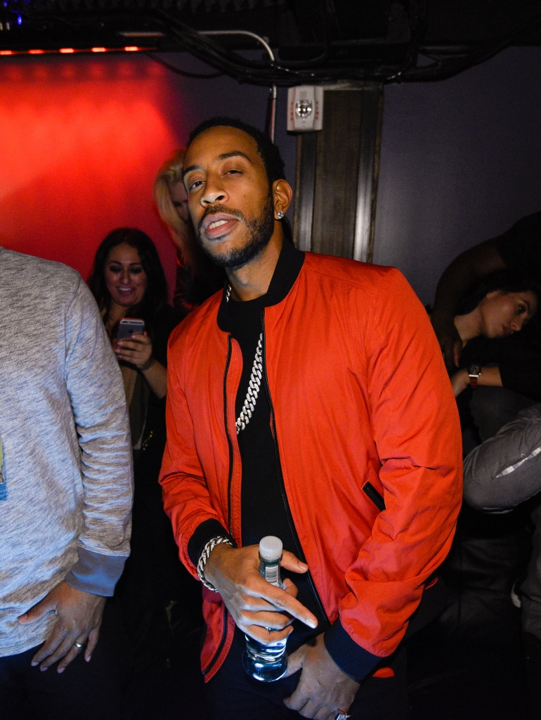 SAN FRANCISCO, CA - FEBRUARY 04: Ludacris attends Marquee Takeover at Verso - Big Game Weekend presented by Hennessy V.S - Day 1 on February 4, 2016 in San Francisco, California. (Photo by Noel Vasquez/Getty Images for MHUSA)