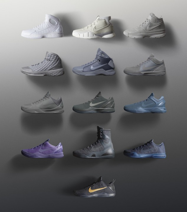 Nike Honors Kobe Bryant With The Black Mamba Pack