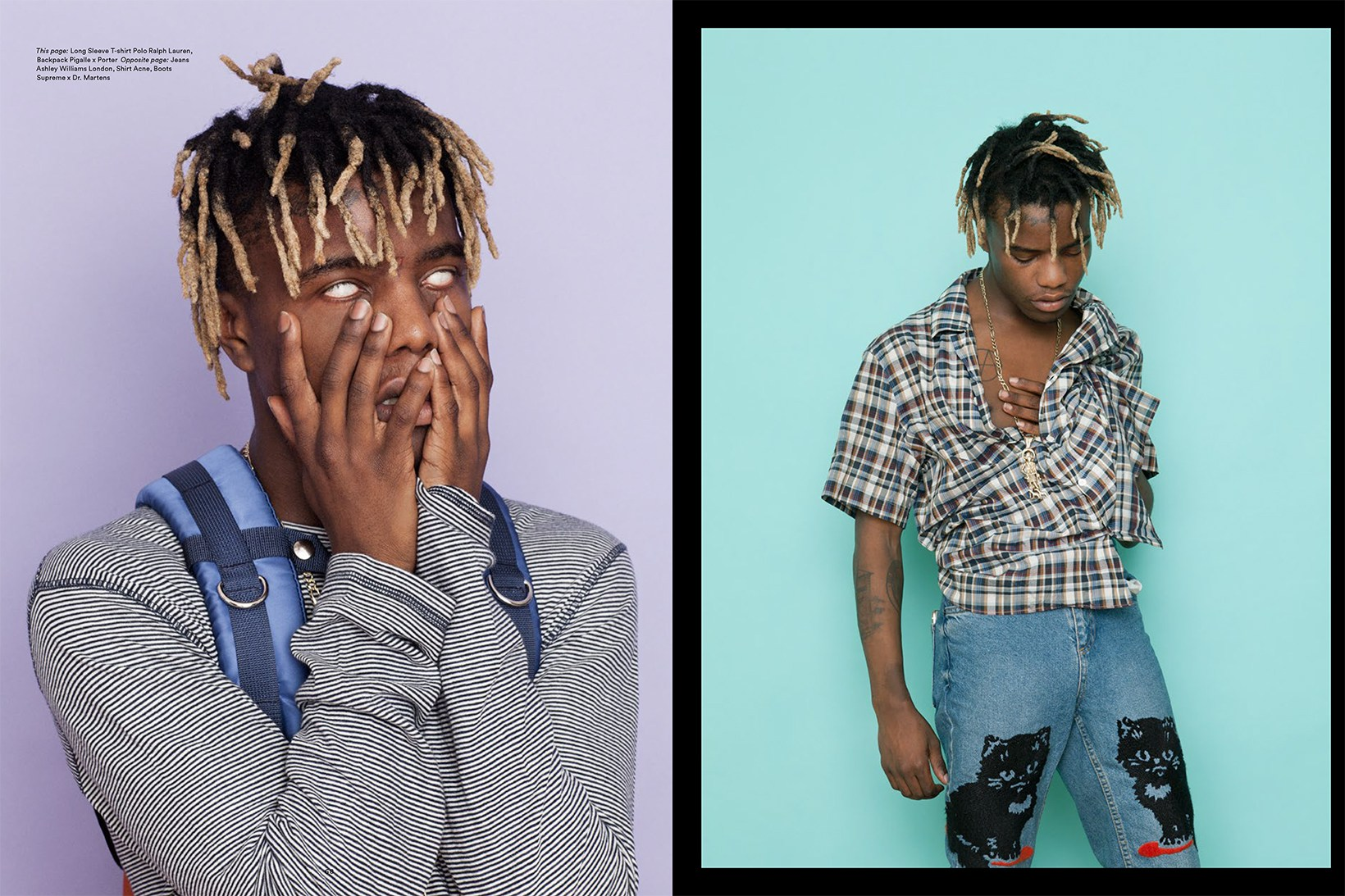 Ian Connor Shows Upcoming Trends Via Exit Mag Editorial The 5th Element Magazine