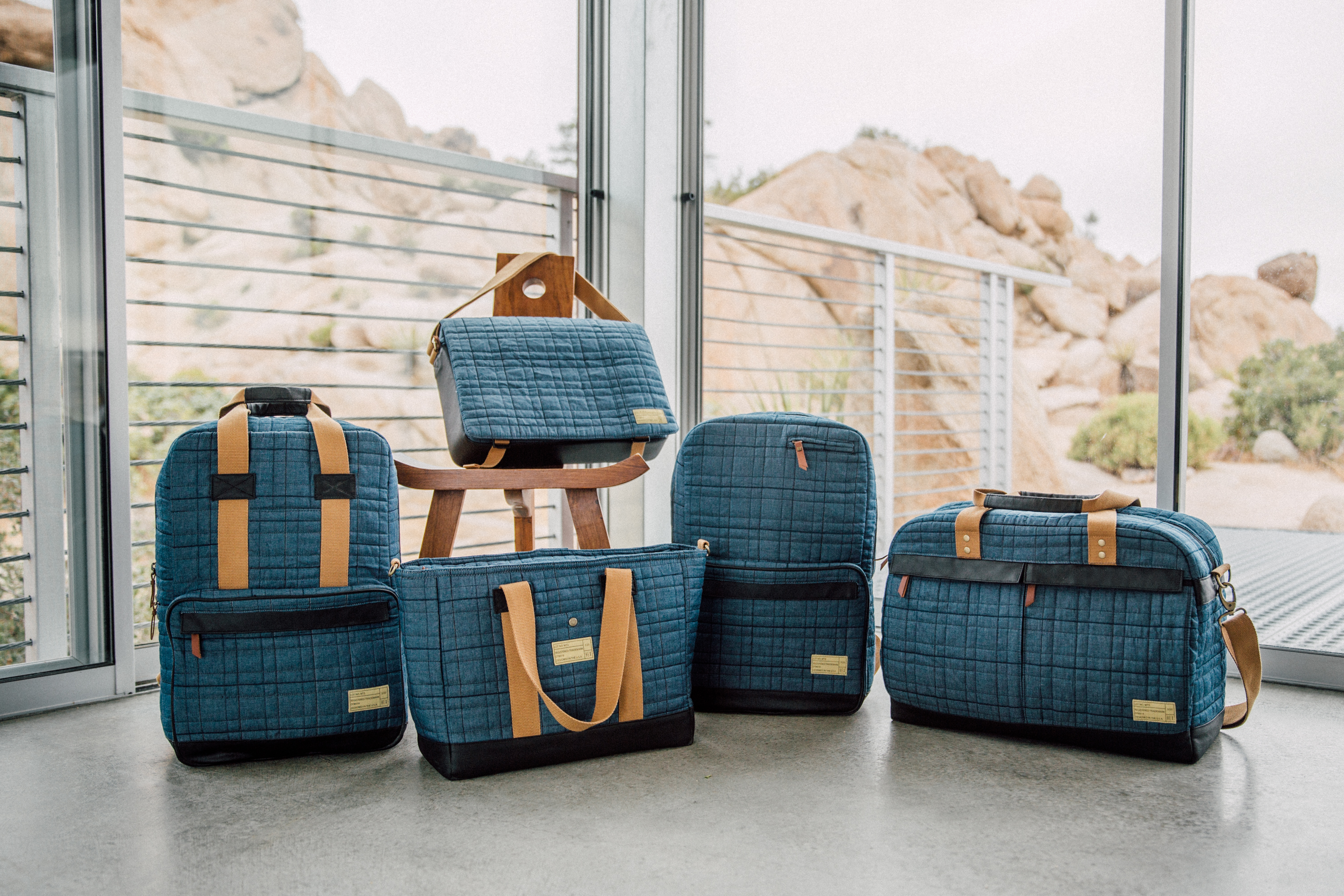 Travel accessories brand hex launches the montrose collection the 5th element magazine for Travel gear brand
